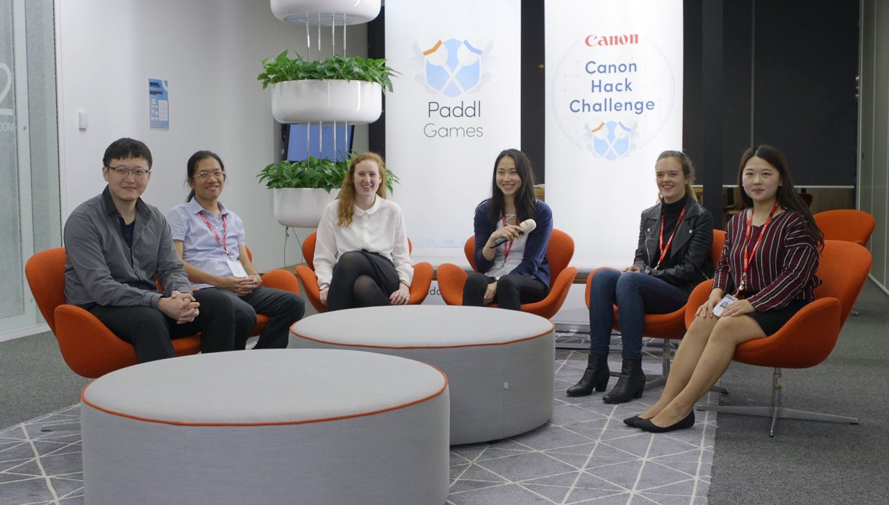 Six innovation challenge winners from Paddl and Canon hackathon