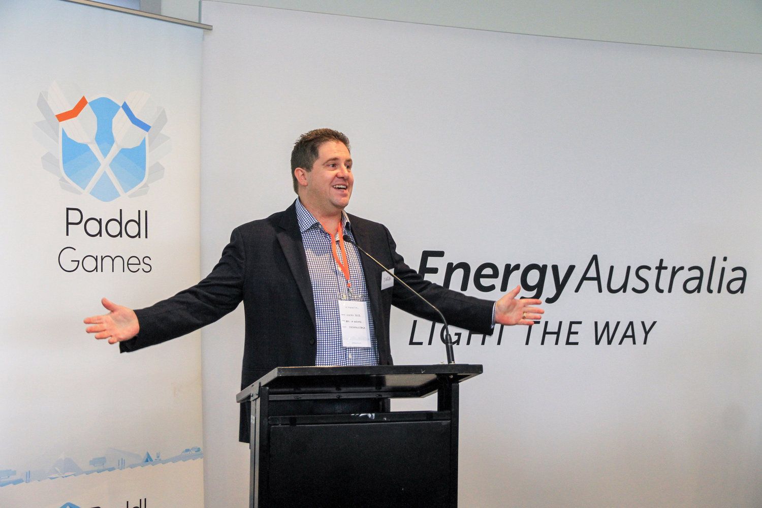 Duncan Bryce, Head of Business, EnergyAustralia, 2019 EnergyAustralia COSBOA Innovation Games