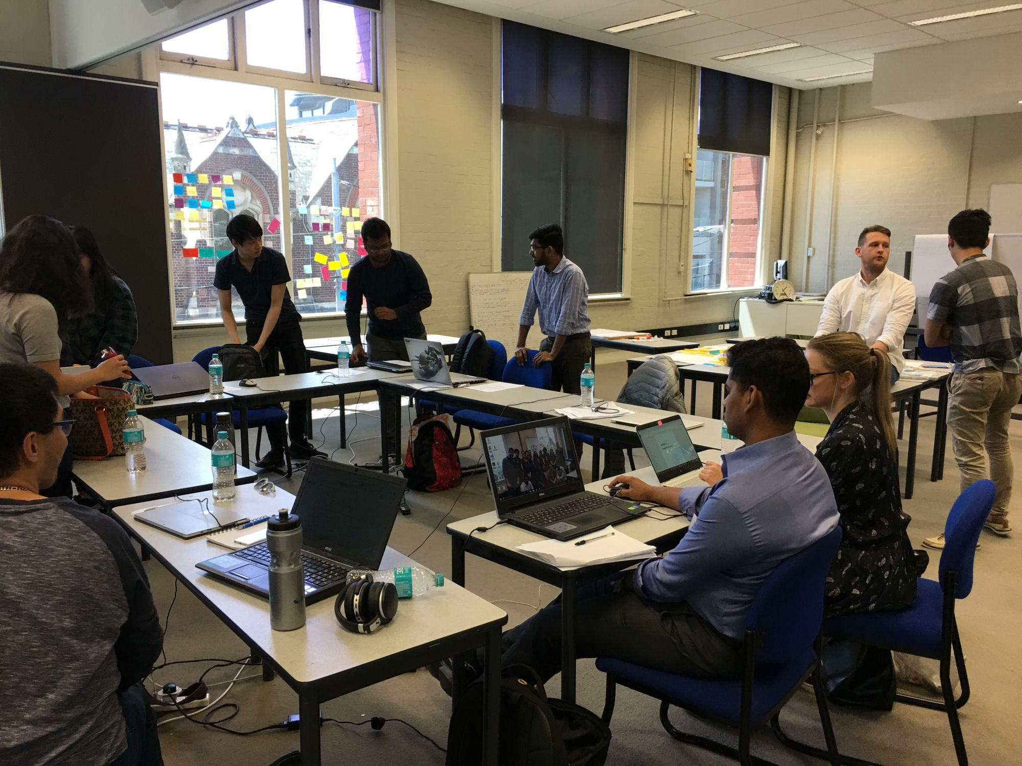 Students and graduates strengthen Metro Trains Melbourne's culture of innovation